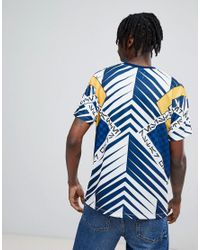 ASOS - Blue Asos X Star Wars Relaxed T-shirt With Printed Panels And Tape for Men - Lyst