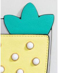 ASOS DESIGN - Multicolor Asos Cocktail Bag Charm Key Ring - Lyst