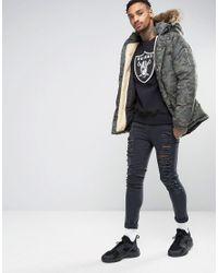 KTZ Black Oakland Raiders Sweatshirt for men