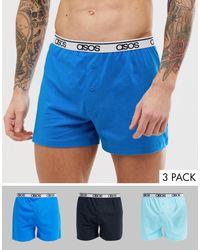 Pack ASOS de hombre de color Blue