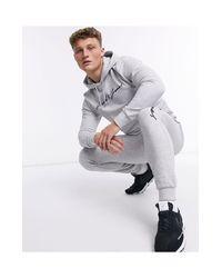 Серый Спортивный Костюм С Логотипом-надписью Jack & Jones для него, цвет: Gray