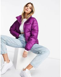 Фиолетовая Куртка Puffect-красный Columbia, цвет: Red