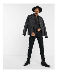 Camisa ASOS de hombre de color Black