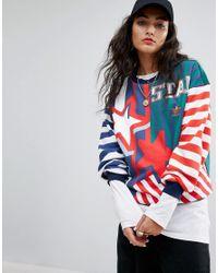 Adidas Multicolor Originals Archive Sweatshirt