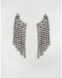 ALDO - Metallic Galusa Fringed Ear Cuffs - Lyst