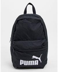 PUMA Black – Phase – Kleiner Backpack