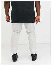 Polo Ralph Lauren – Big & Tall – Jogginghose mit Bündchen und Polospieler-Logo in Gray für Herren