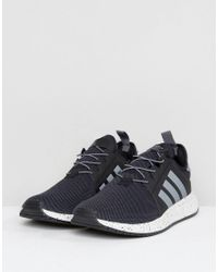 X_PLR BY9254 - Scarpe da ginnastica nere di Adidas Originals in Black da Uomo