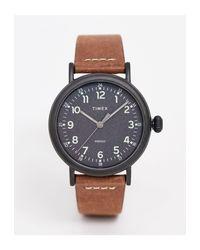 Standard - Orologio da 40 mm con cinturino di Timex in Brown da Uomo