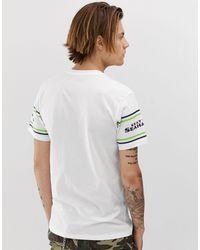 Camiseta con logo KTZ de hombre de color White