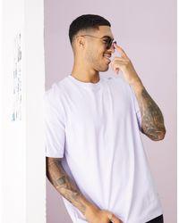 Topman Purple Oversized T-shirt for men