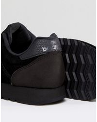 New Balance - 520 Suede Mono Trainers In Black U520bb - Lyst