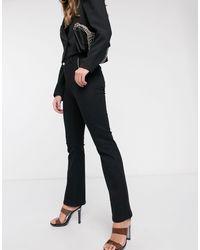 Черные Широкие Джинсы -черный Vero Moda, цвет: Black