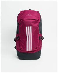Бордовый Рюкзак -красный Adidas для него, цвет: Red