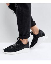 Adidas Originals Originals Tubular Doom Sock Trainers In Black