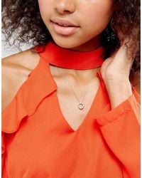 Dogeared - Metallic Sterling Silver Love You Sister Knot Necklace - Lyst