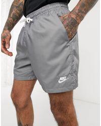 Club Essentials - Pantaloncini grigi di Nike in Gray da Uomo