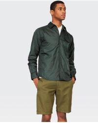 Aspesi Green Shirt Marvin for men