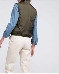 Aspesi Green Thermore Vest Jillina