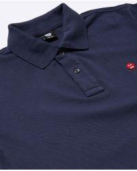 Aspesi Blue Jersey Polo for men