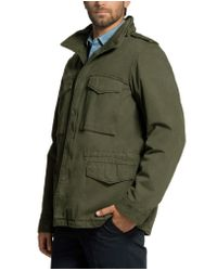 Aspesi - Green Cotton And Thermore Jacket M65 ** for Men - Lyst