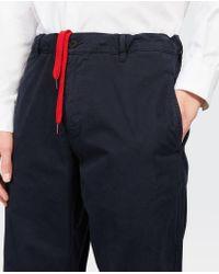 Aspesi Blue Trousers Funzionale for men