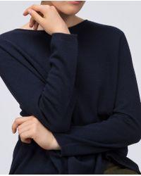 Aspesi - Blue Pure Cashmere Sweater - Lyst