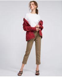 Aspesi Natural Trousers