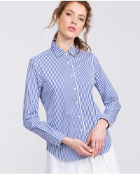 Aspesi Blue Pure Cotton Shirt