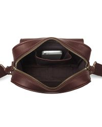 Aspinal - Brown Harrison Small Messenger for Men - Lyst