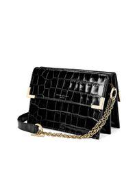 Aspinal Black Chelsea Bag