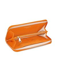 Aspinal - Orange Continental Zip Around Wallet - Lyst