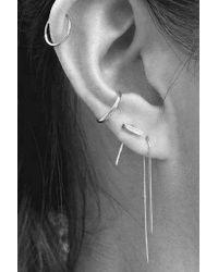 Gabriela Artigas - Metallic 14k Gold Loop Earring - Lyst