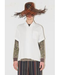 Assembly New York - Camp Button Up - White - Lyst