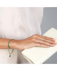 Astley Clarke - Multicolor Green Quartz Woven Biography Bracelet - Lyst
