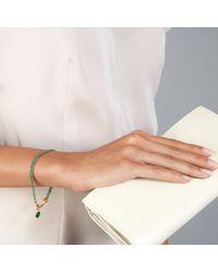 Astley Clarke   Green Quartz Woven Biography Bracelet   Lyst