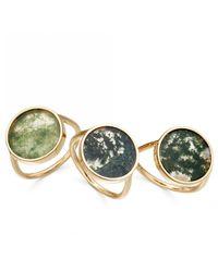 Astley Clarke - Multicolor Moss Agate Venus Ring - Lyst