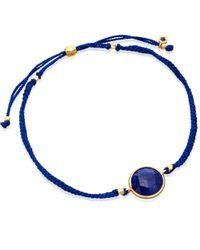 Astley Clarke   Blue Lapis Polka Biography Bracelet   Lyst