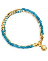 Astley Clarke | Metallic Apatite Ginkgo Biography Bracelet | Lyst