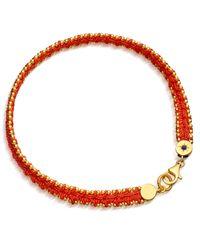 Astley Clarke | Orange Satellite Of Love Nugget Bracelet | Lyst