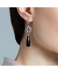 Astley Clarke | Black Tanzanite Spinel Fao Starburst Earrings | Lyst