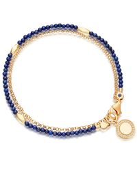 Astley Clarke | Multicolor Lapis Faceted Nugget Biography Bracelet | Lyst