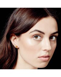 Astley Clarke - Multicolor Mini Peace Biography Stud Earrings - Lyst