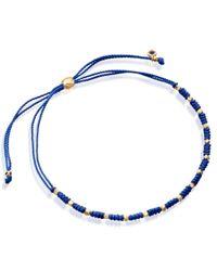 Astley Clarke - Blue Wisdom Skinny Biography Bracelet - Lyst
