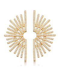 Astley Clarke | Multicolor Large Setting Sun Stud Earrings | Lyst
