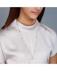 Astley Clarke - Metallic Octagonal Moonstone Long Necklace - Lyst