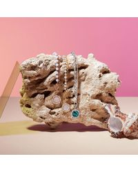 Astley Clarke Multicolor Luna Mother Of Pearl Biography Bracelet
