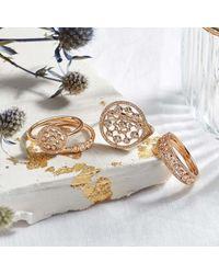 Astley Clarke Multicolor Medium Icon Nova Diamond Ring