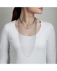 Astley Clarke Metallic Icon Nova Diamond Pendant Necklace