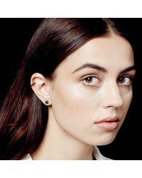 Astley Clarke - Black&black Mini Icon Earrings - Lyst